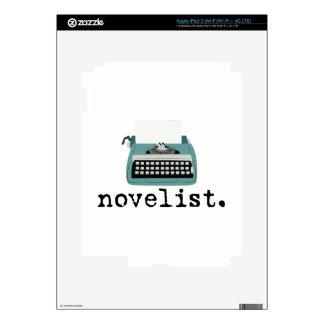 Novelist Decal For iPad 3