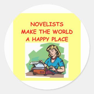 novelist sticker