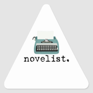 Novelist Triangle Sticker