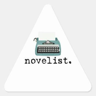 Novelist Triangle Sticker