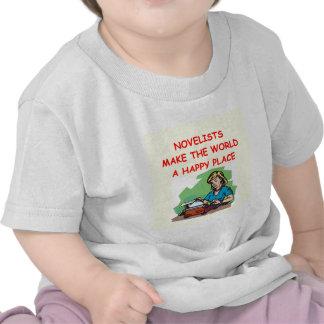 novelist tshirt