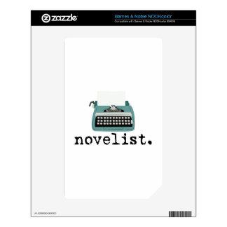 Novelista NOOK Color Calcomanías