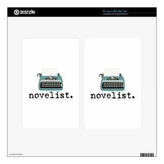 Novelista Pegatinas Skins Para Kindle Fire