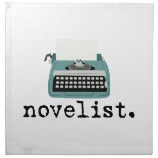 Novelista Servilletas Imprimidas