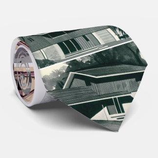 Novelty 1959 Mid-century Modern Houses Tie