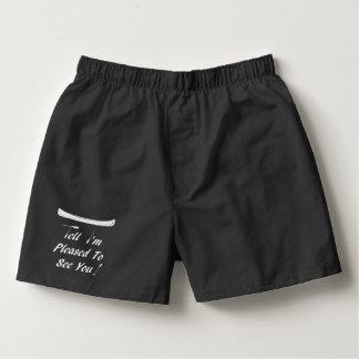 Novelty Canoeist Boxer Shorts