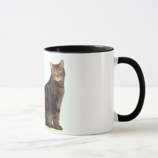 Novelty Cat Mug About Allergies