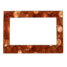 Novelty Copper Coins Magnetic Frame