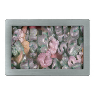 Novelty Design Packing Peanuts Rectangular Belt Buckle