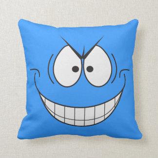 Novelty Evil Genius Super Villain Smiley Pillow