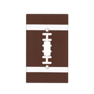 Novelty Football Light Switch Cover