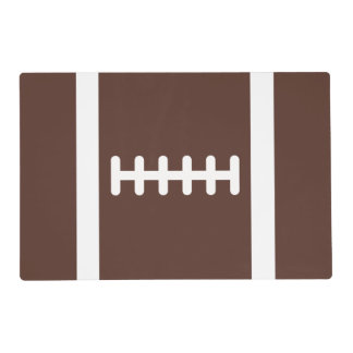 Novelty Football Placemat