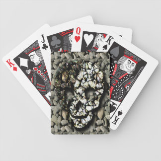 Novelty Gothic Skull and Rocks Deck Of Cards