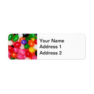 Novelty Jellybeans Label