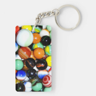 Novelty Marble Collection Keychain