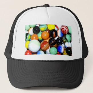 Novelty Marble Collection Trucker Hat