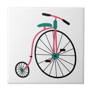 Novelty Old Fashioned Bike Ceramic Tile