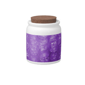 Novelty Purple Bubble Wrap Look Candy Dishes