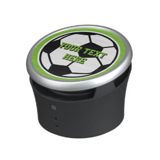 Novelty round soccer ball bluetooth speaker