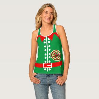 Novelty Santas Elf Costume Tank Top