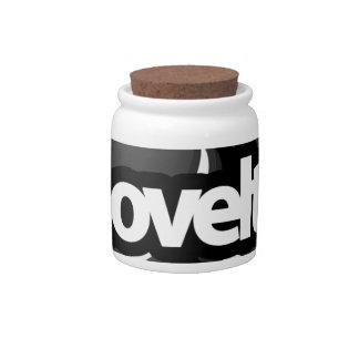 novelty stuff candy jars