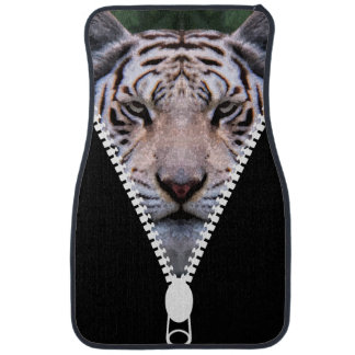 Novelty Tiger Car Mat Set Car Mat