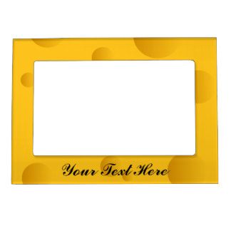 novelty yellow cheese magnetic picture frame - Yellow Picture Frames