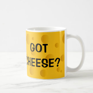 Novely coffee mug for cheese lovers