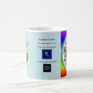 November 13 - November 22 Scorpio-Cancer Decan mug