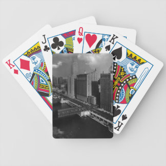 November 1939:  The city of Chicago Bicycle Playing Cards
