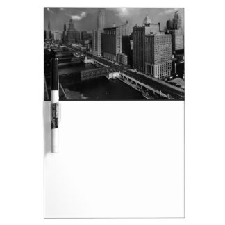 November 1939:  The city of Chicago Dry-Erase Board