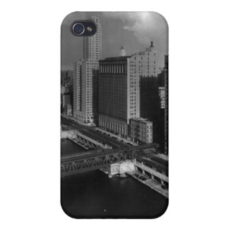 November 1939:  The city of Chicago iPhone 4 Cover
