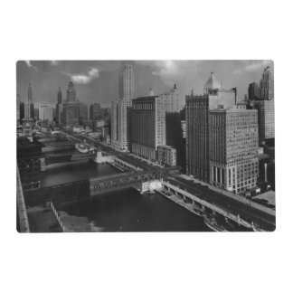 November 1939:  The city of Chicago Placemat