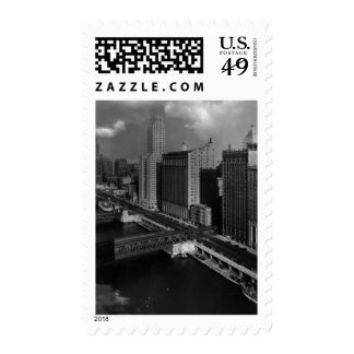 November 1939:  The city of Chicago Postage