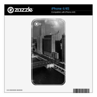 November 1939:  The city of Chicago Skins For iPhone 4