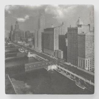 November 1939:  The city of Chicago Stone Coaster