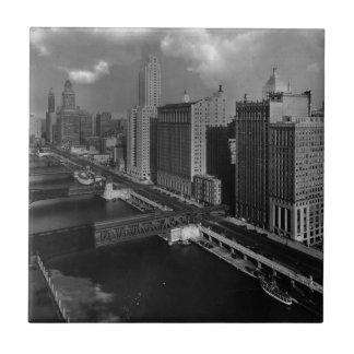 November 1939:  The city of Chicago Tile