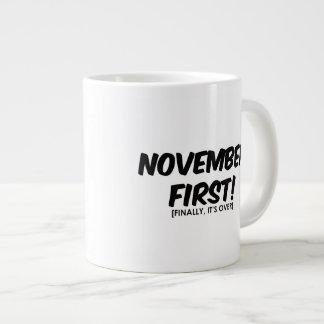 November 1st Anti Halloween Large Coffee Mug