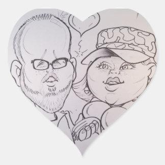 November 2012- A Heart Sticker