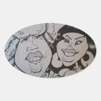 November 2012- K Oval Sticker