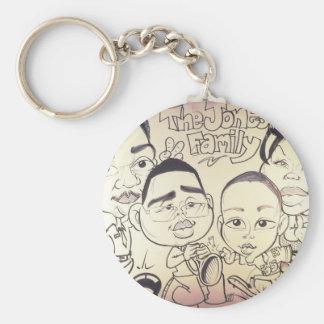 November 2012 State Fair Louisiana Caricature Keychain