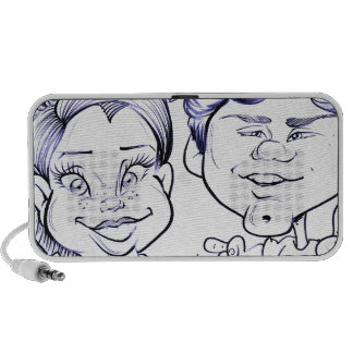 November 2012 State Fair Louisiana Caricature Portable Speakers