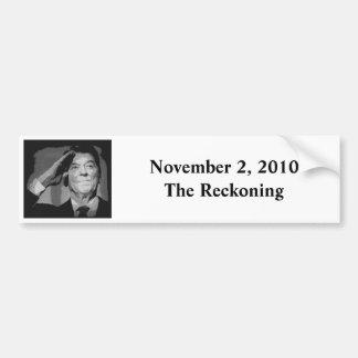 November 2, 2010The Reckoning Bumper Sticker