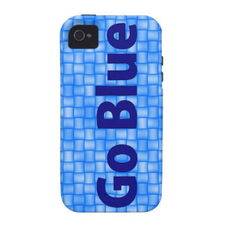 November 6, 2012 - Go Blue iPhone Cover Case For The iPhone 4