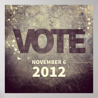 November 6, 2012 poster