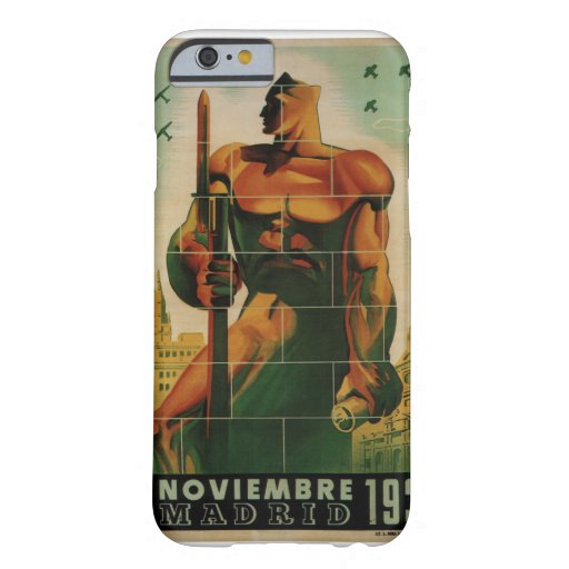 November 7, 1936_Propaganda Poster Barely There iPhone 6 Case