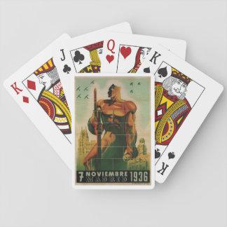 November 7, 1936_Propaganda Poster Playing Cards