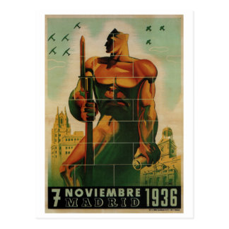 November 7, 1936_Propaganda Poster Postcard