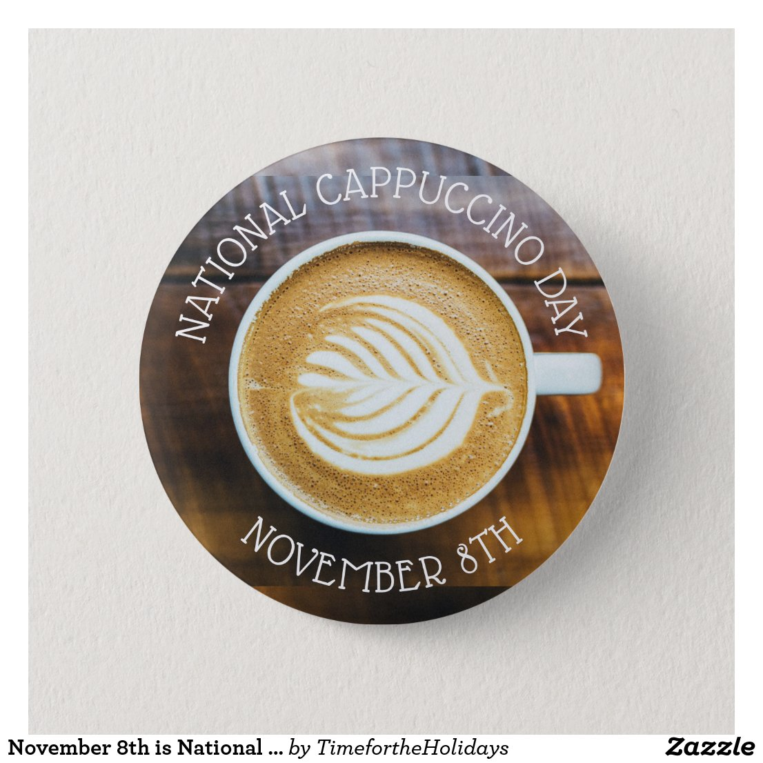 November 8th is National Cappuccino Day