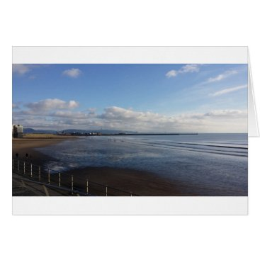 "Beach Themed November Beach - Standard (5"" x 7"") Greetings Card"